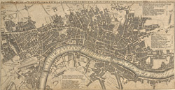 The London guide, or pocket plan of the cities of London & Westminster, & borough of Southwark :with the new buildings, c&. to the present year 1767.